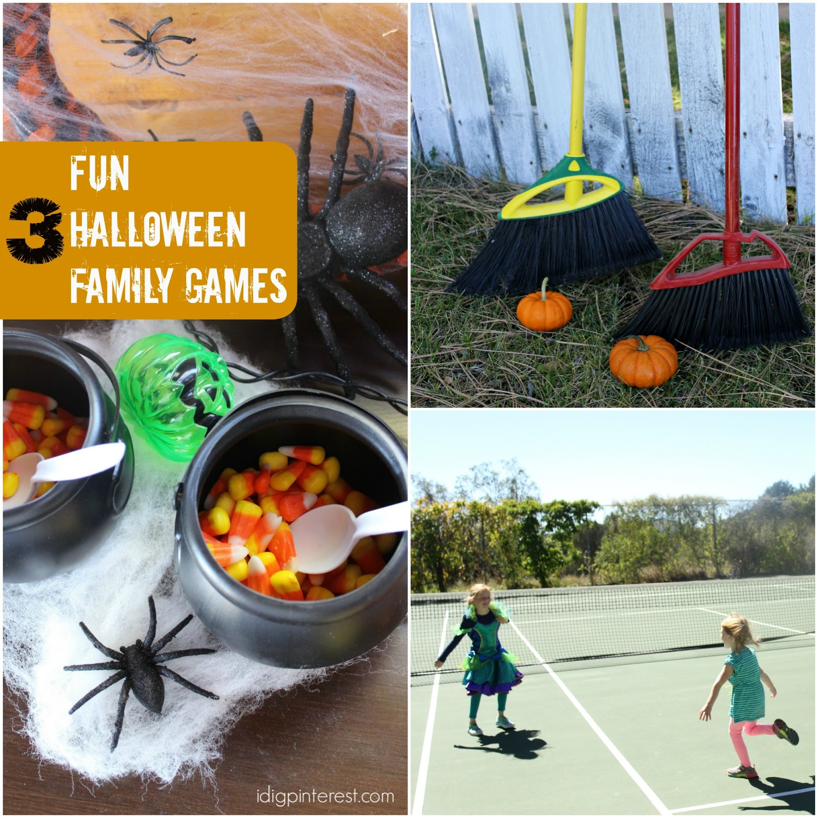 Three Fun Halloween Family Games