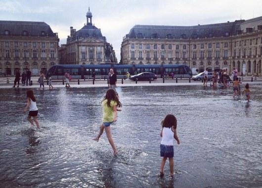 Le miroir d'eau - Bordeaux © idile