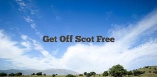 Get Off Scot Free