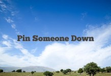 Pin Someone Down