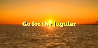 Go for the Jugular