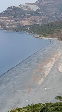 Nonza Beach and Angel