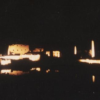 Son et Lumiere, Karnak 12