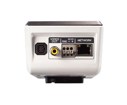 DC-B box camera achterkant