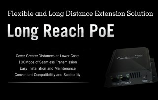 IDIS Long Reach PoE Extender
