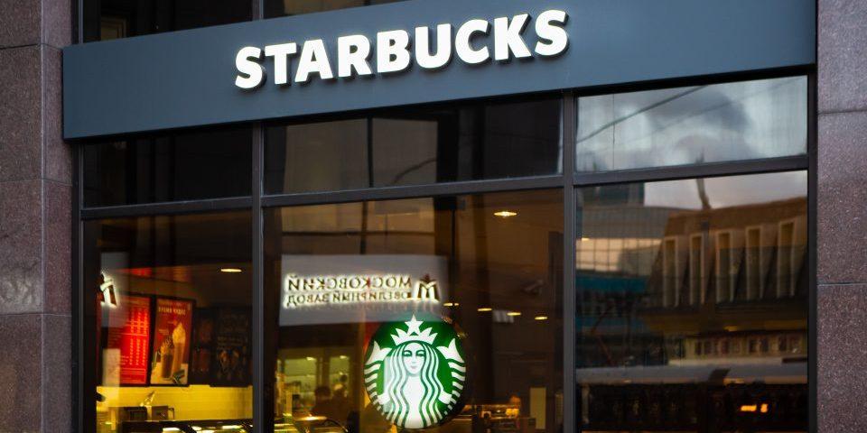 Gevel Starbucks