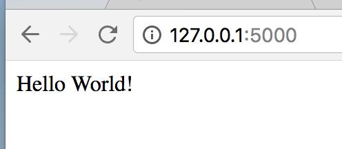 Hello World Screenshot