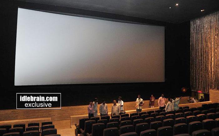 S2 Multiplex Nellore Demo Amp Walk Though Telugu Cinema