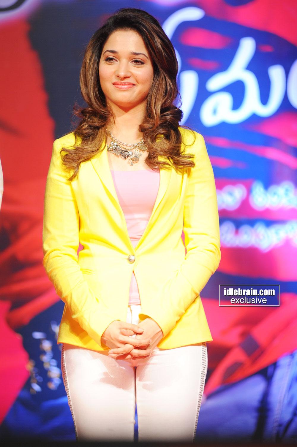 Actress Tamanna at Endukante Premanta music launch