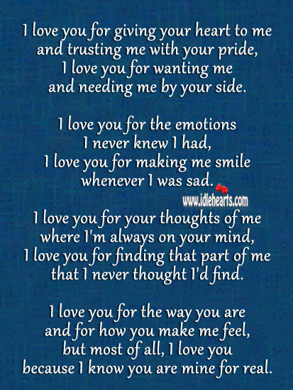 I Wish You Loved Me Back Quotes
