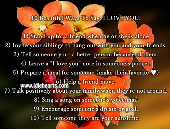If You Love Someone Tell Them Quotes