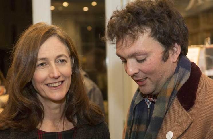 Victoria Hull and Tom Hodgkinson