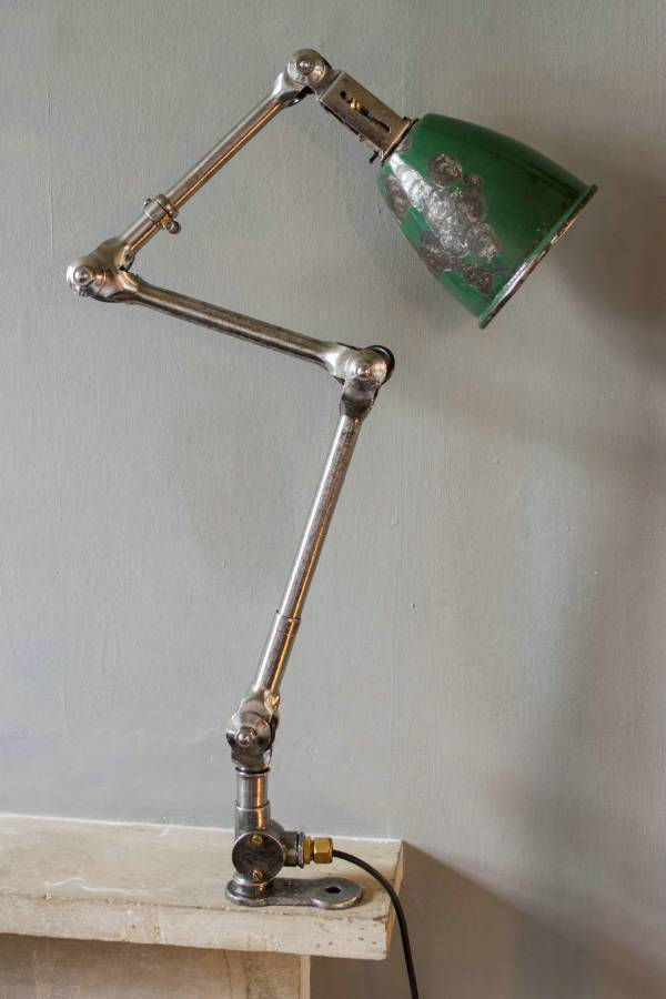 Green Anglepoise Desk Lamp ID Lights