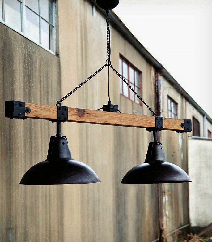 pendant lights industrial look