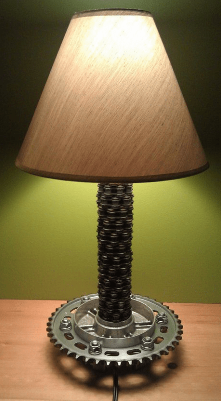 6 Motorcycle Industrial Table Lamps Only For Bikers ID