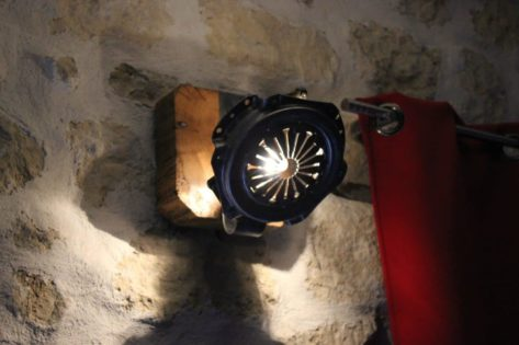 Wall Sconce Farmhouse Lighting with Clutch Parts • iD Lights on Wall Sconce Parts id=84939