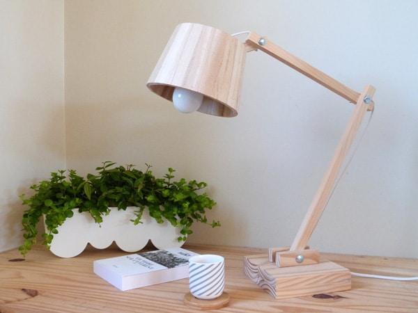 How To Make A Scandinavian Wood Lamp ID Lights