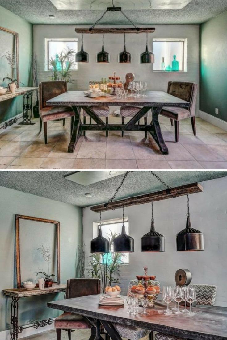 dining room lighting ideas farmhouse