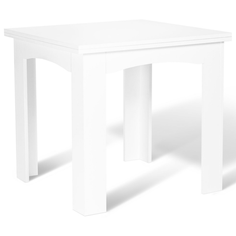 table a manger extensible blanche 6 a 8