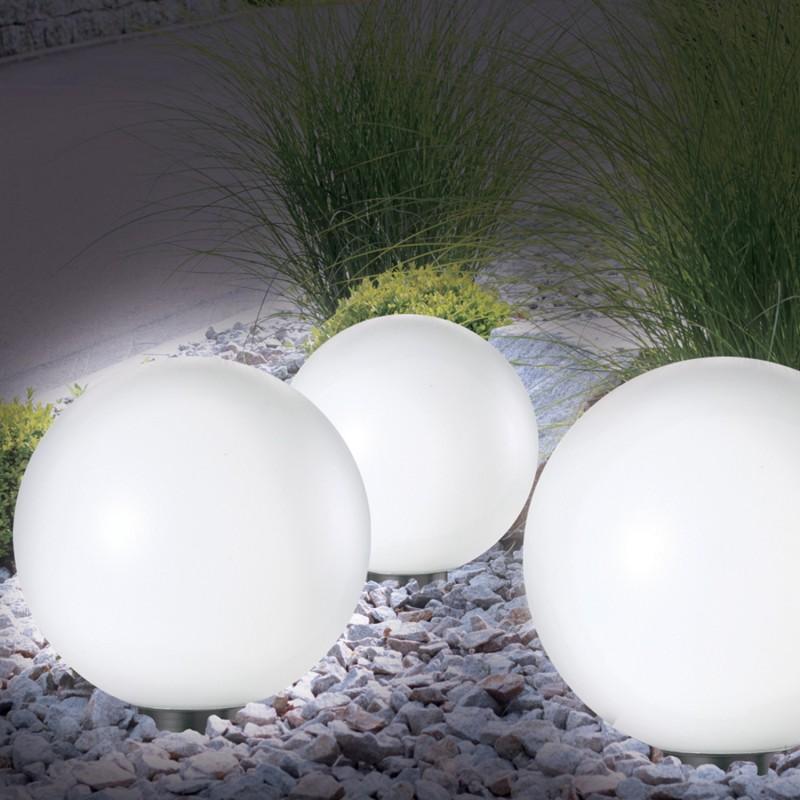 Lampe Boule 30 Cm Led Solaire X2 Eclairage Et Dcoration