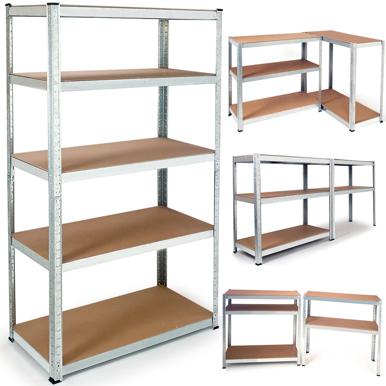 etagere modulable charges lourdes en metal 5 plateaux probache