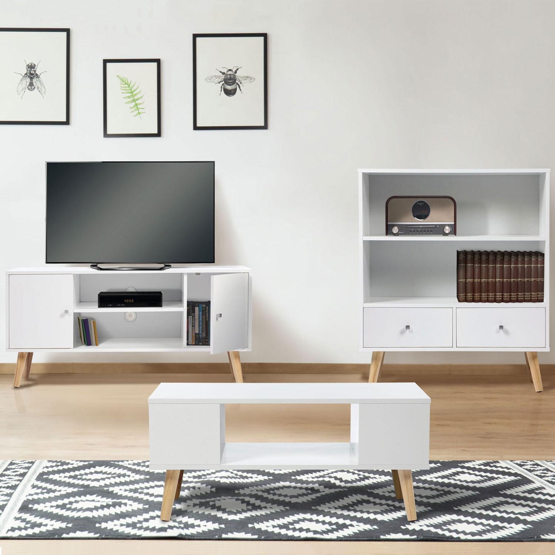table basse effie scandinave bois blanc idmarket