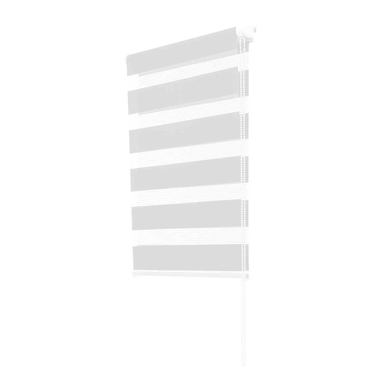 store enrouleur zebre jour nuit 45 x 170 cm blanc idmarket