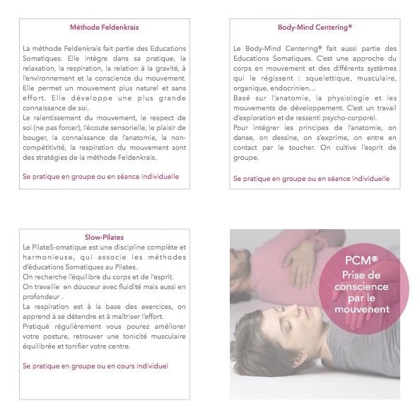 Le programme de la Cerisaie Bastille pour l'année 2018-2019 (verso)
