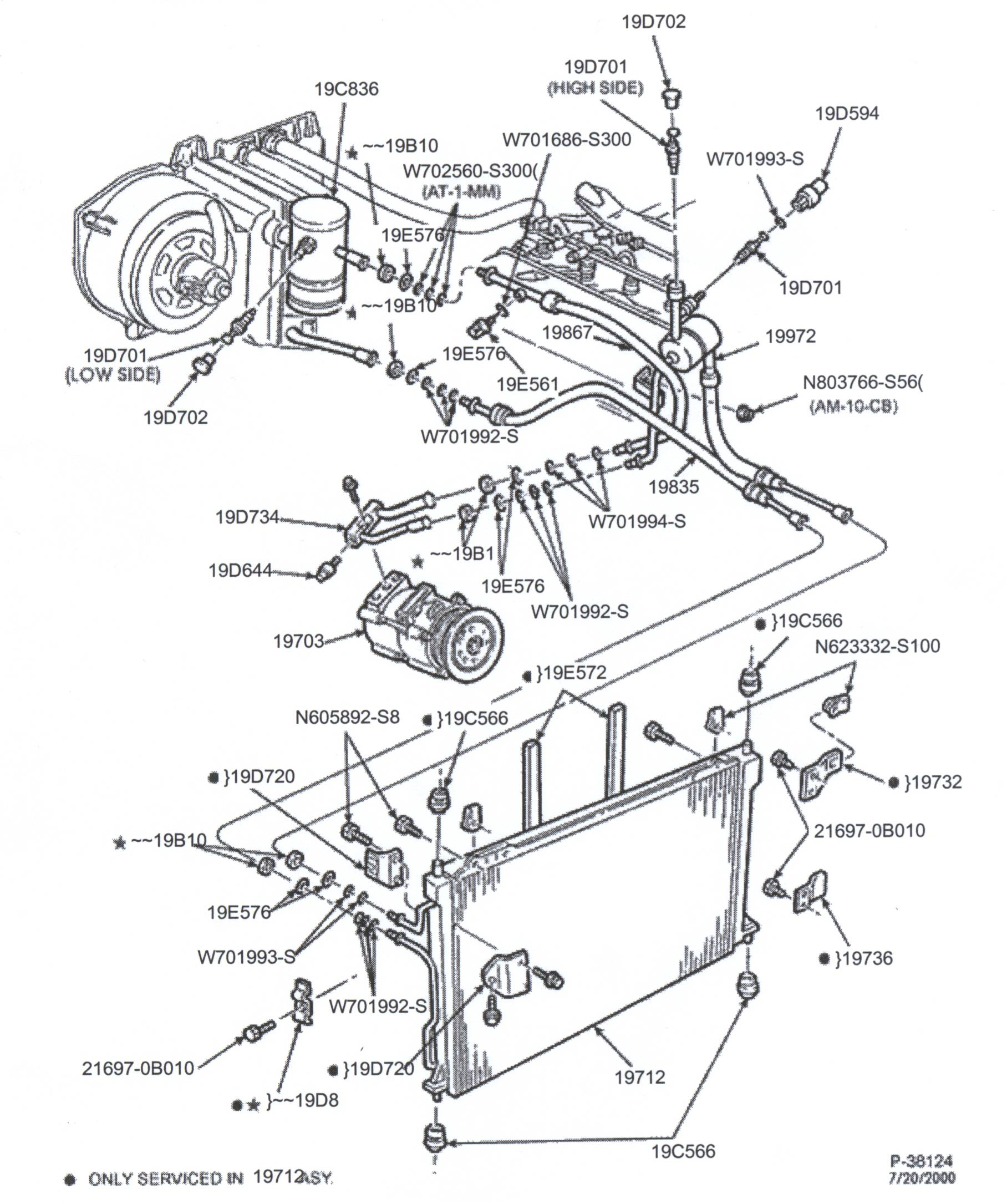 Ford Parts Diagram