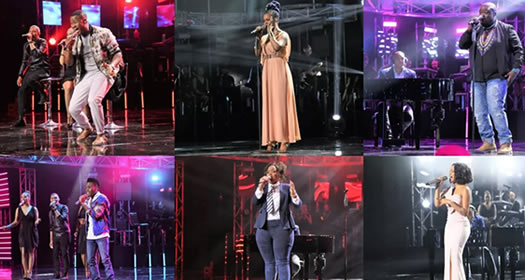 Idols SA 2017 Top 6 Song Choices