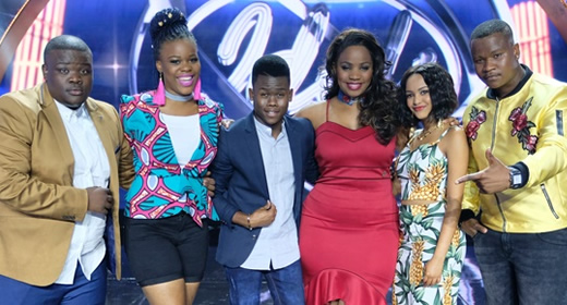 Idols SA 2017 Top 6