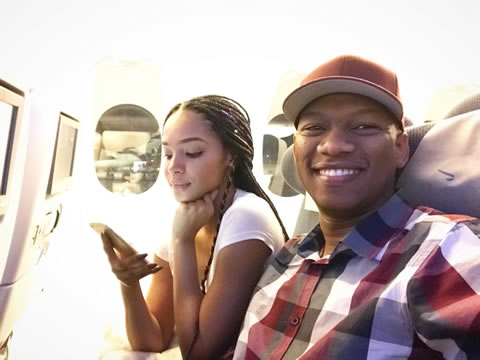 ProVerb and Girlfriend Liesl Laurie London Trip