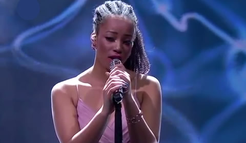 Nosipho Silinda performing Open Arms By Mariah Carey