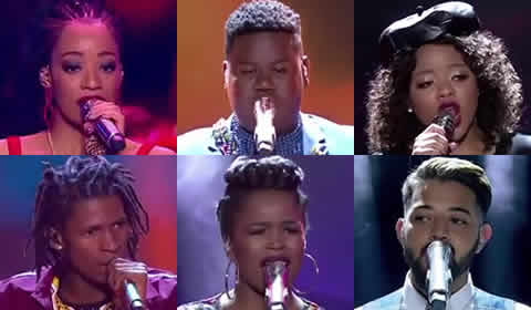 Idols SA 2018 Season 14 Top 6 Contestants Song Choices