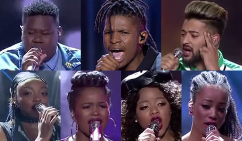 Idols SA 2018 Season 14 Top 7 Contestants Song Choices