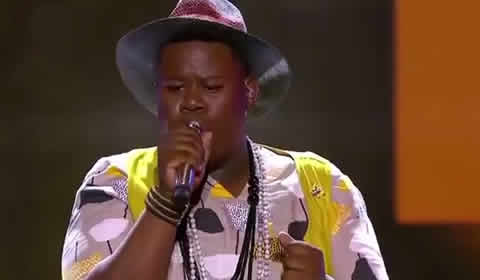 King B performing Baby Please by Kelly Khumalo