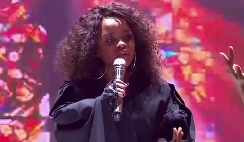 Thando Mngomezulu performing Single Ladies By Beyonce