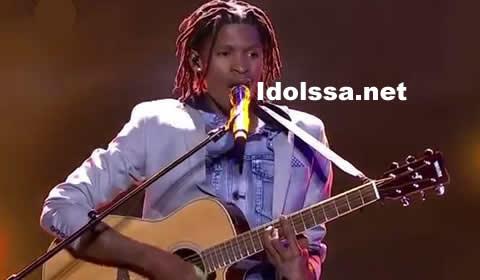 Thato Makape performing Imibuzo by Nathi