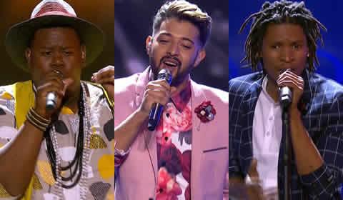 Idols SA 2018 Season 14 Top 6 Boys