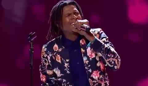Thato Makape performing Thandiwe by Vusi Nova