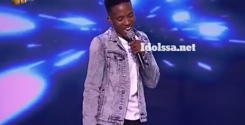 Idols SA 2019 Top 17 Contestant Andy Keys Performing Girls Like You By Maroon 5