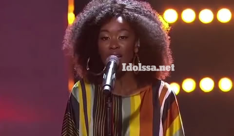 Idols SA 2019 Top 17 contestant Mmangaliso Gumbi Performing Egoli By Mlindo The Vocalist featuring Sjava