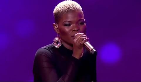Virginia Qwabe Performing Yim Okhthandayo by Linda Gcwensa