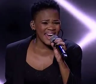 Nqobile Performing Love Theory By Kirk Franklin