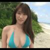 無【原幹恵】Gカップ5 ビキニとビーチと棒倒しゲームと対話