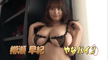 【柳瀬早紀】Iカップ6 「やなパイ2」サンプル動画