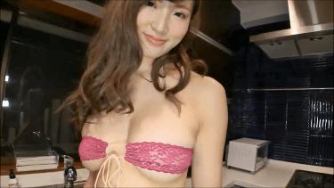 【松嶋えいみ】Fカップ14 パンスト脱ぎシーン!&おっぱい揺れすぎダンス!