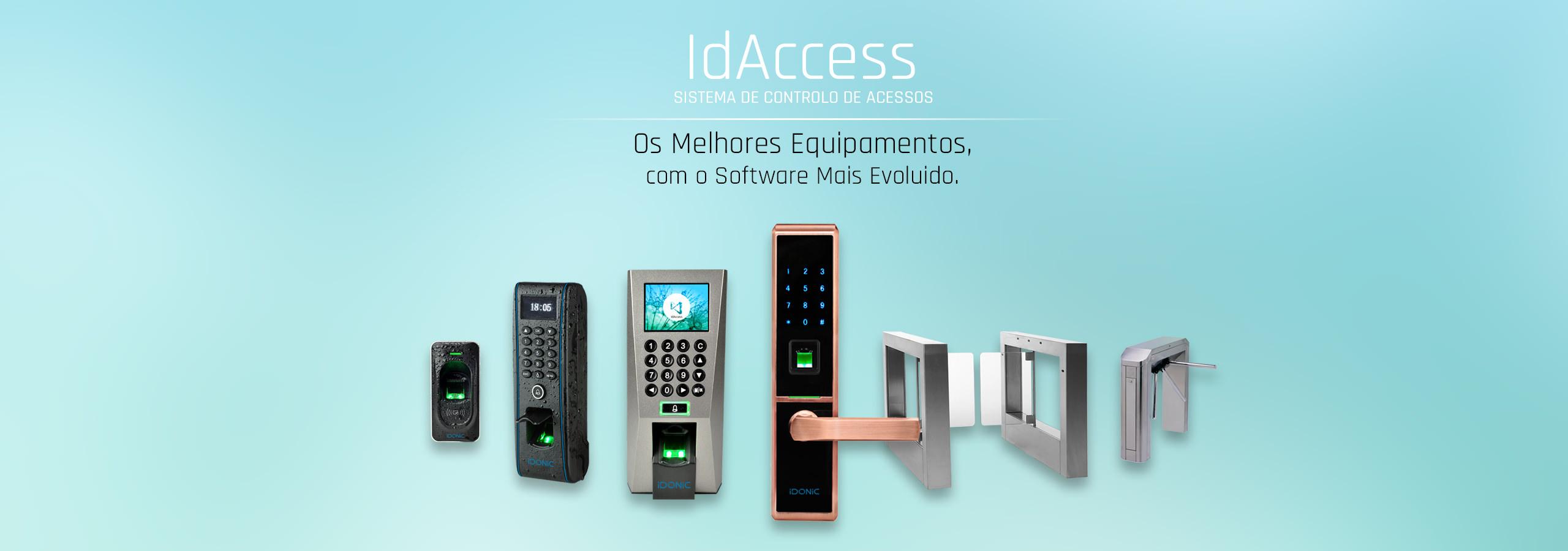 Controlo de Acessos | Torniquetes | Sistemas Biométricos | Reconhecimento Facial | Leitura da Impressão Digital | RFID | Código PIN | IDONIC