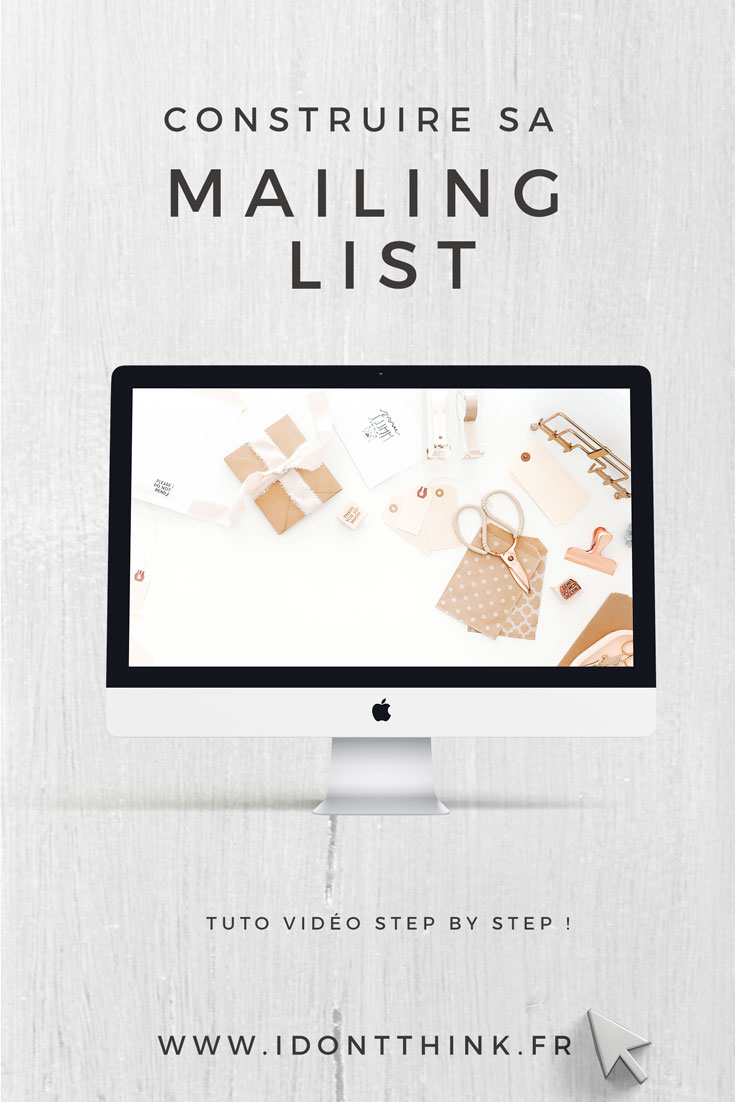 Construire sa mailing list