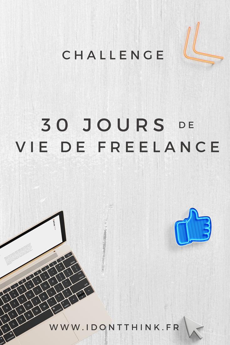 Challenge : 30 jours de vie de Freelance
